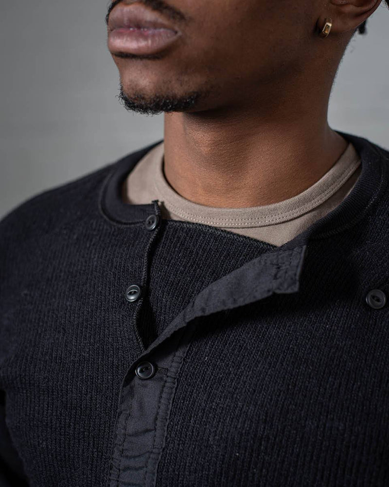 Stanfield's Henley Black front