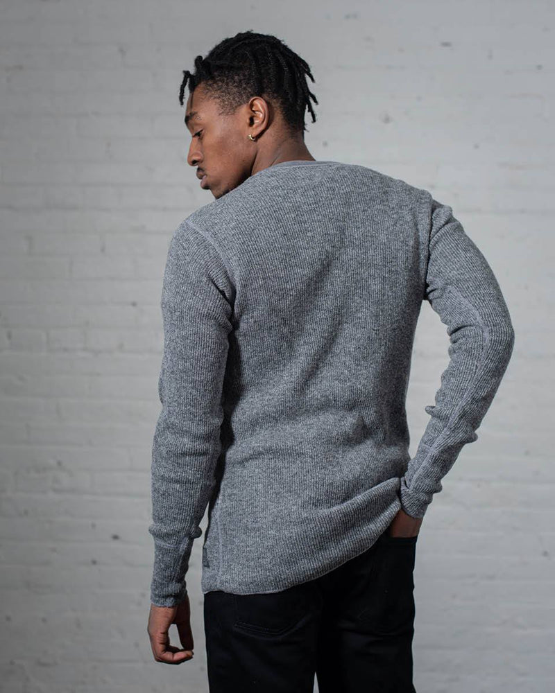 Stanfield's Henley in Heather Grey Back