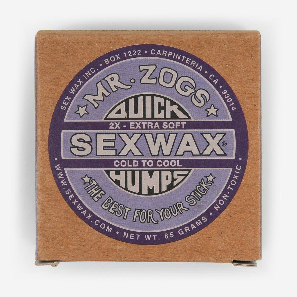 Sex Wax 2x Purple Cold Wax
