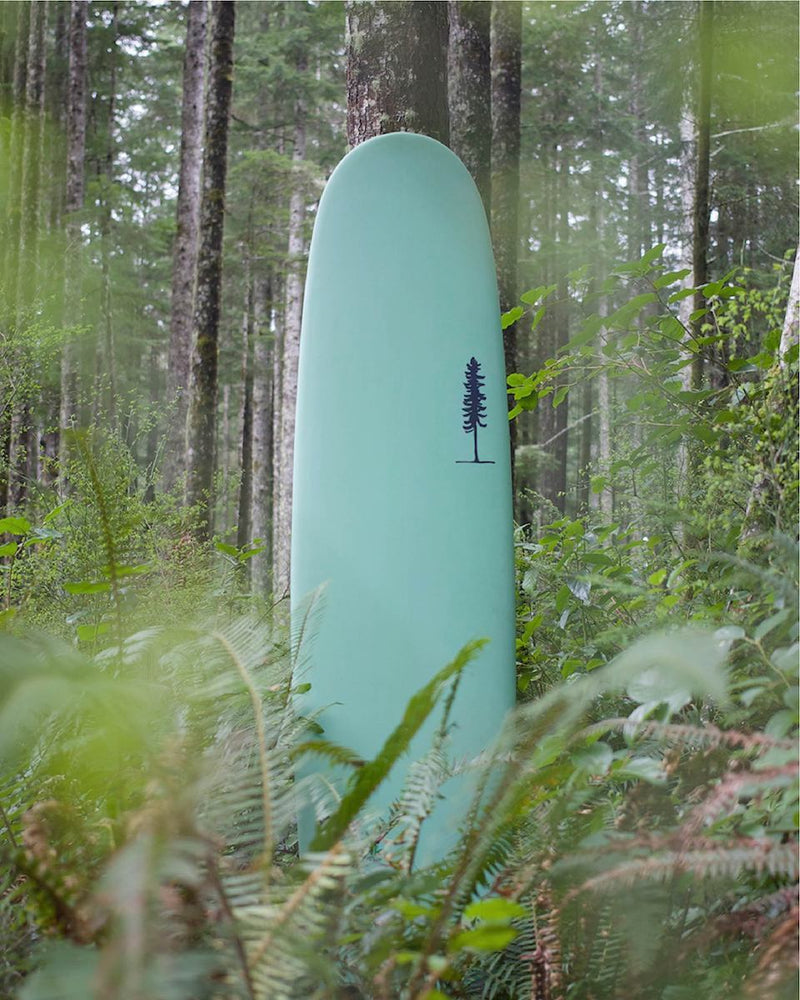 Sitka Surfboards / Biolink Sustainsurf Eco Board Project Verified Level One Surfboard / Green / Mint / Teal Surfboard / Old Growth / All / Hero