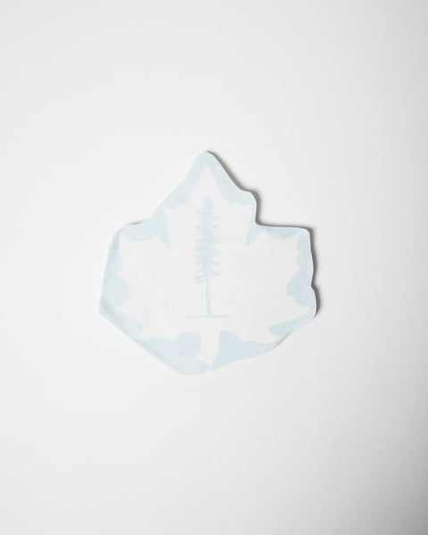 Sitka Maple Sticker - White - All