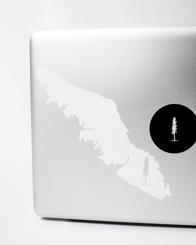 The Vancouver Island Sticker - White