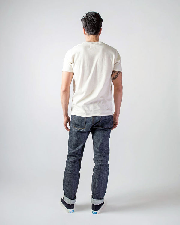 Sitka - ecologyst Men's Organic Cotton Japanese Raw Denim Selvedge The Straight Fit Denim - Indigo