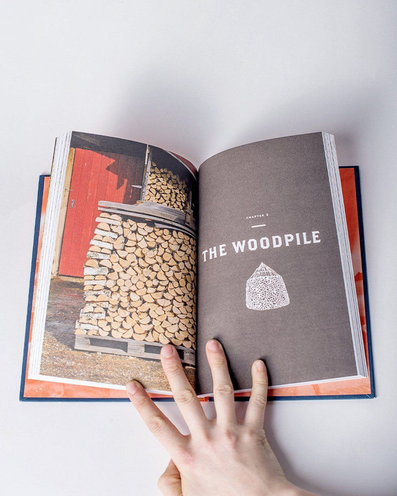 Sitka Books Norwegian Wood Chopping Stacking Dry Wood The Scandinavian Way Author Lars Mytting / All
