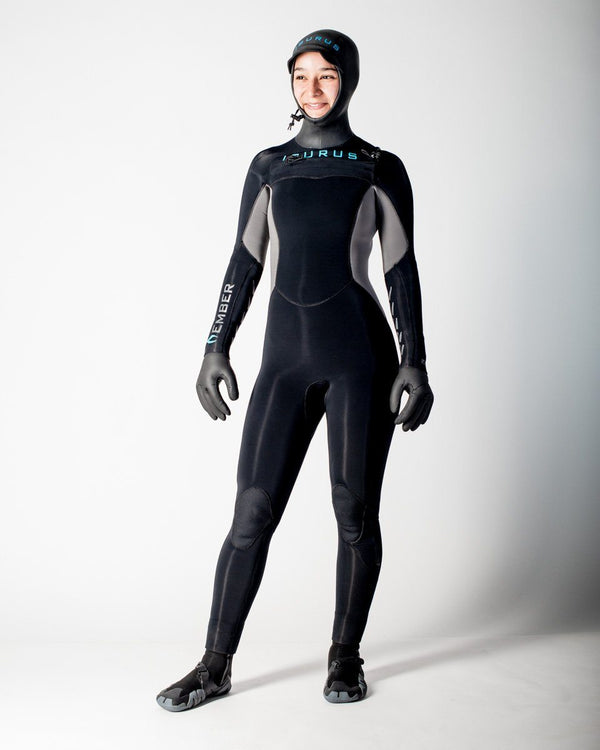 Sitka Isurus Ember Wetsuit 454 Women's Compression Suit Japanese Yamamoto Neoprene - All