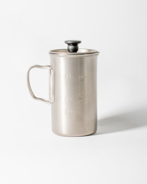 Sitka Snow Peak French Press Titanium Coffee Maker - All