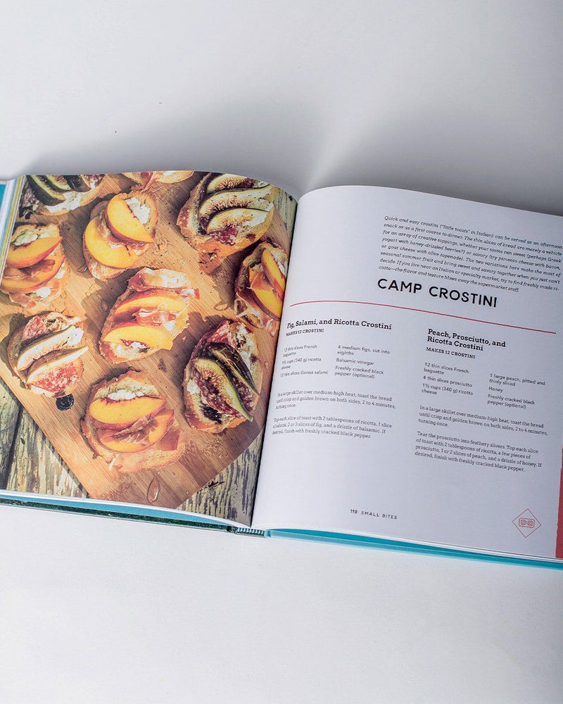 Sitka The Camp Cookbook Gourmet Grub for Campers, Road Trippers and Adventurers Author Linda Ly Will Taylor - All