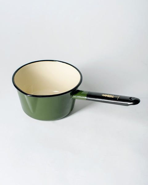 Sitka The Camp Utility Pot Enamel Steel - Sitka Green