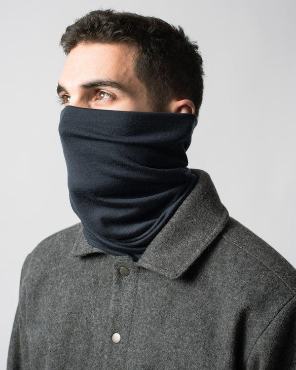 Sitka The Merino Neckwarmer 210 Merino Fabric One Size Chute Balaclava Neck Gaiter Tube Ski Mask Face Cover Dusk Blue - All - ecologyst - sitka