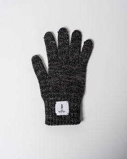Sitka x Upstate Stock American Ragg Wool Full Glove Black Melange Woven Label
