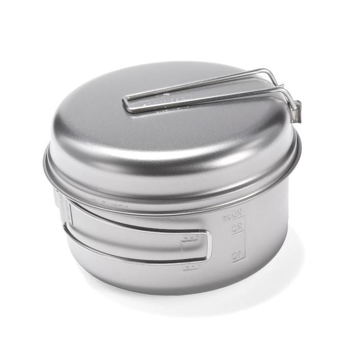 ecologyst Snow Peak 3-Piece Cook Set Titanium Mess Kit - All - Gear - Vimeo - 267668819