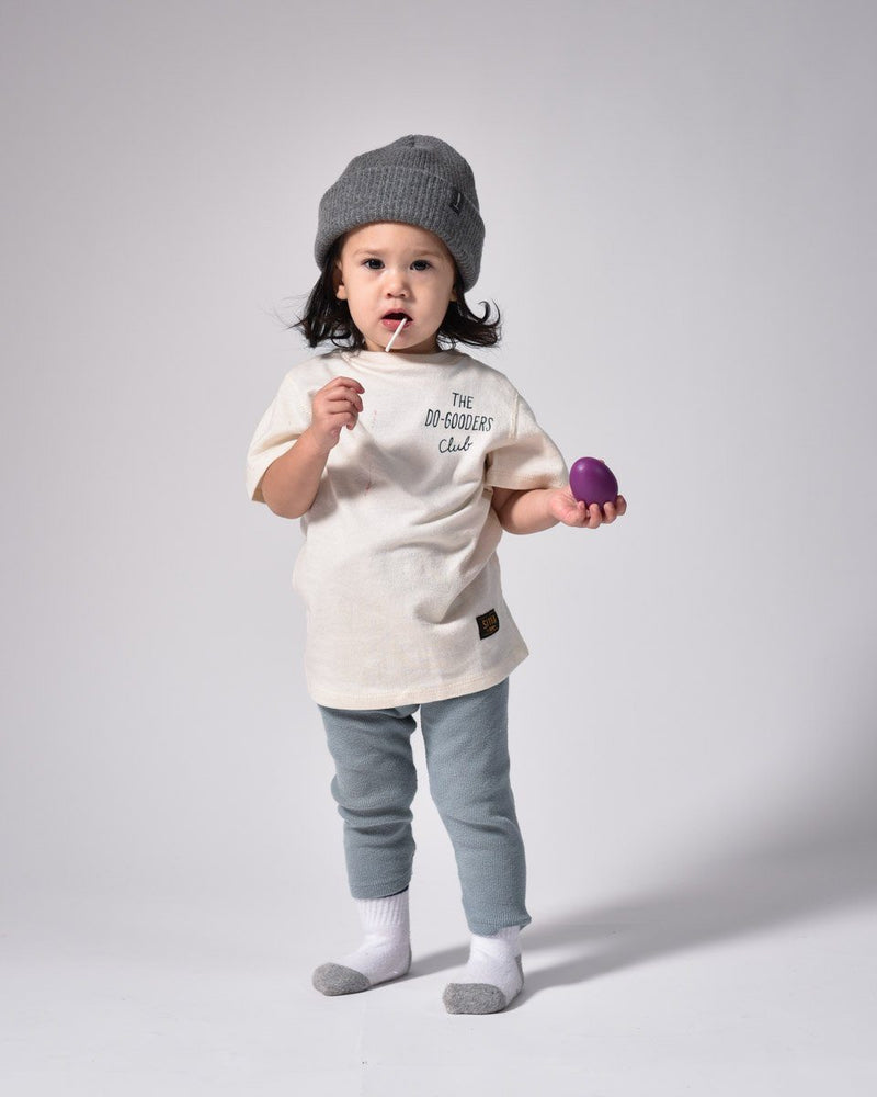 ecologyst - Merino Cashmere Wool - Kids Toque - Beanie - Grey - Made in Canada