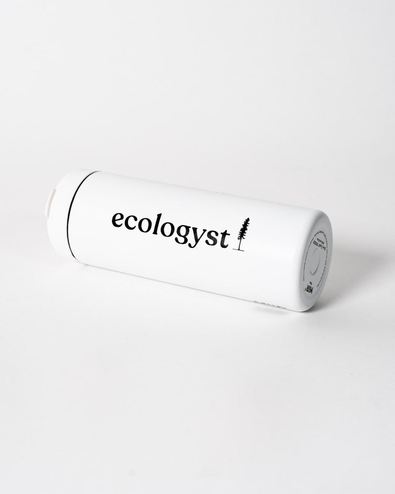 ecologyst logo sticker - vinyl - black