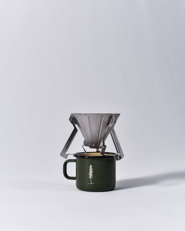 ecologyst - Snow Peak - The Field Barista Coffee Drip - collapsible