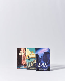 ecologyst - Field Notes - National Park 3-Pack - Series A