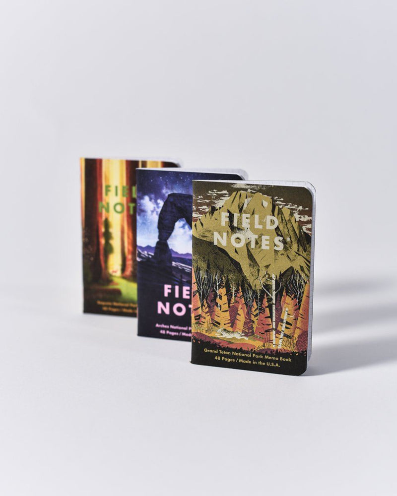 ecologyst - Field Notes - National Park 3-Pack - Series D