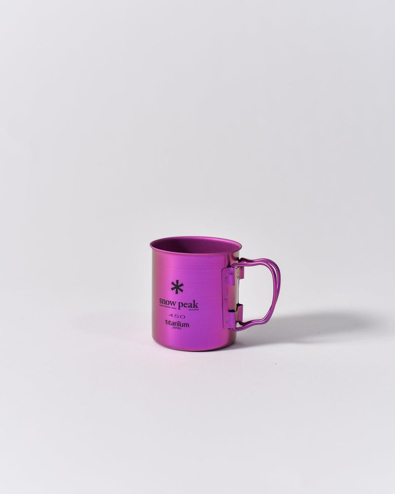 ecologyst Snow Peak Camp Cup Titanium - Metallic Purple