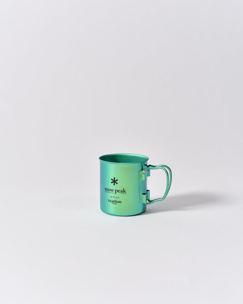 ecologyst Snow Peak Camp Cup Titanium - Metallic Green