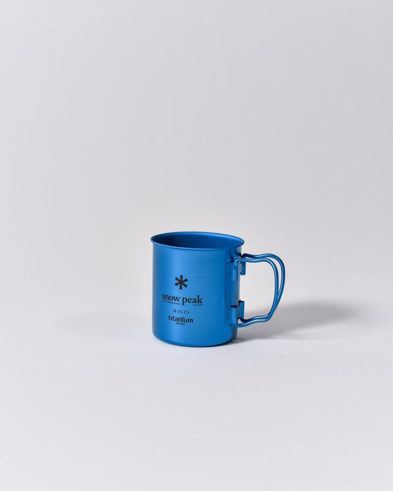 ecologyst Snow Peak Camp Cup Titanium - Metallic Blue