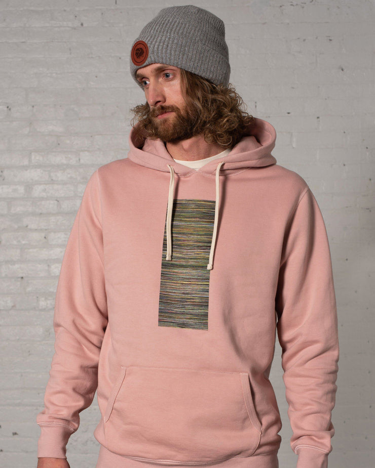 Suicide Sheep Hoodie in Rose - Front