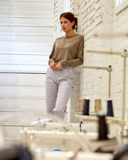 The 195 Merino Henley in Sand - Factory2 #colour_sand