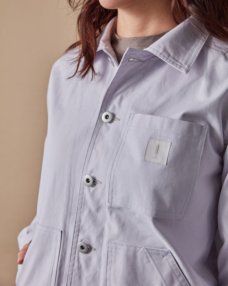 The Chore Coat in Lavender Detail