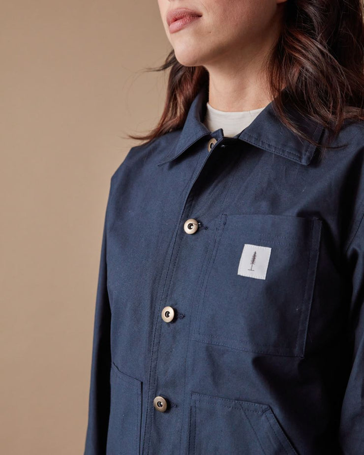 The Chore Coat in Pacific Detail