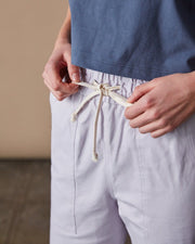 The Culottes Women Close Up #colour_lavender