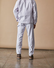 The Mens Work Pant in Lavender Back #colour_lavender