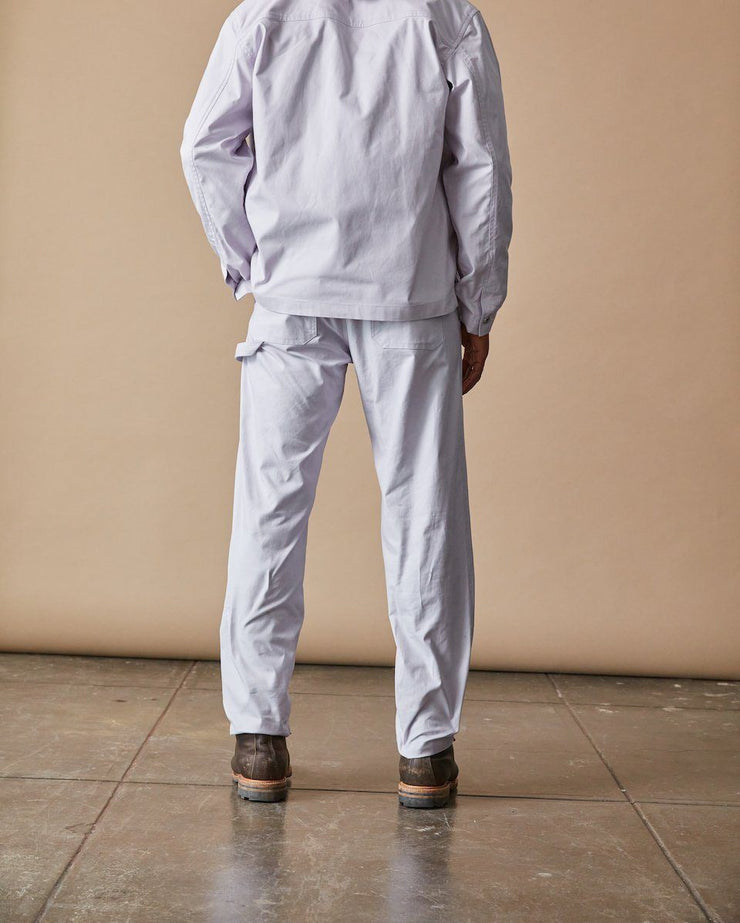 The Mens Work Pant in Lavender Back