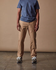 The Mens Work Pant in Hazelnut Front #colour_hazelnut