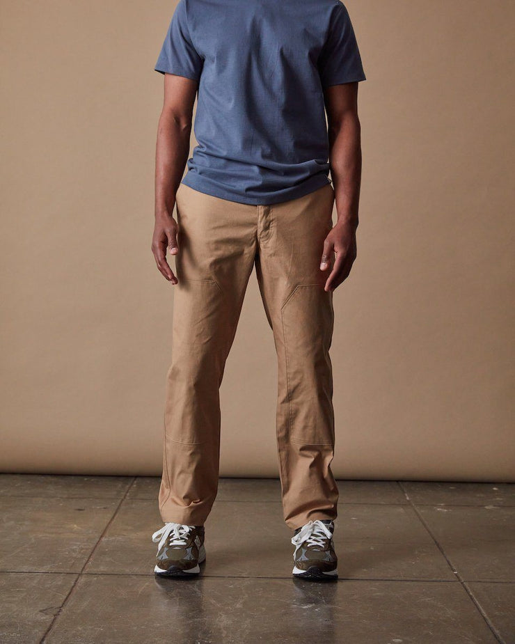 The Mens Work Pant in Hazelnut Front