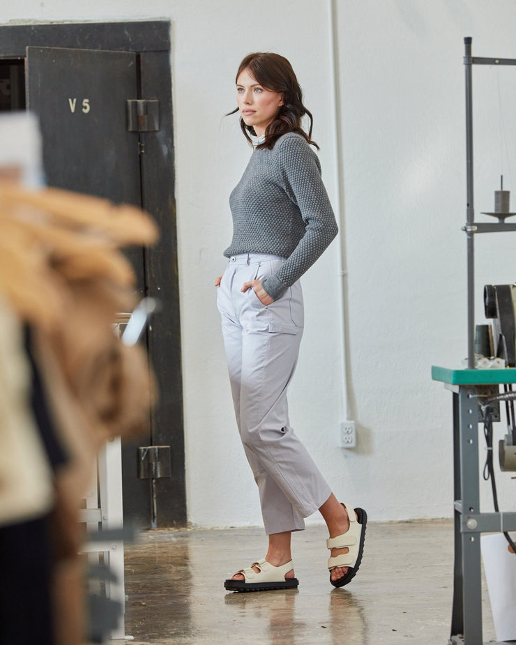 The Merino Sweater in Grey - Factory2
