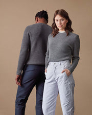 The Merino Sweater in Grey - Gender-Neutral #colour_grey