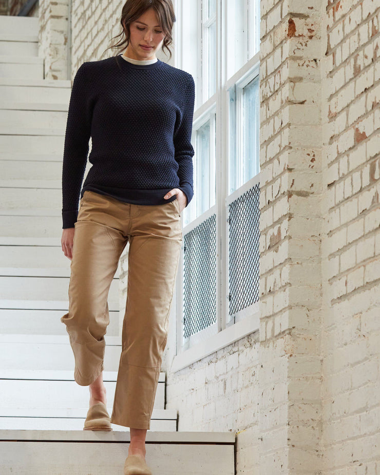 The Merino Sweater in Navy - Factory