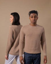 The Merino Sweater in Nutmeg - Gender-Neutral #colour_nutmeg