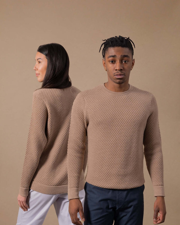 The Merino Sweater in Nutmeg - Gender-Neutral