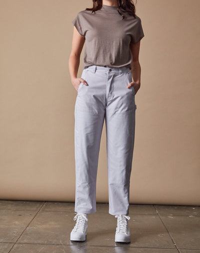 The Work Pant Women Front #colour_lavender