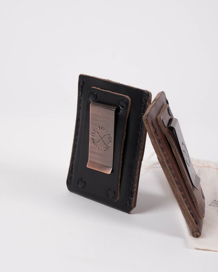 ecologyst x Populess Larson Wallet in Black Detail Back