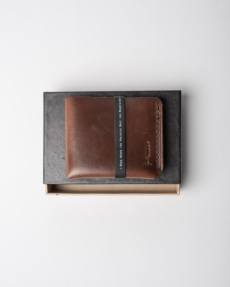 ecologyst x Populess Walter Wallet in Rustic Brown Package