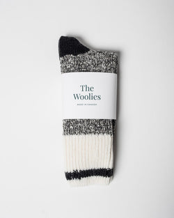 The Woolies Sitka Duray Socks Made in Canada Wool Blend - Black - ecologyst - sitka