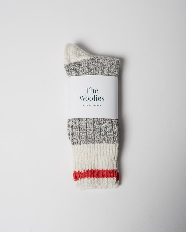 The Woolies Socks in Red