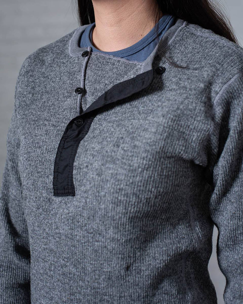 Stanfield's Henley Heather Grey Front