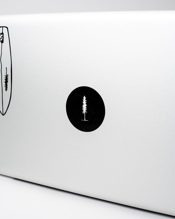 The Laptop Sticker