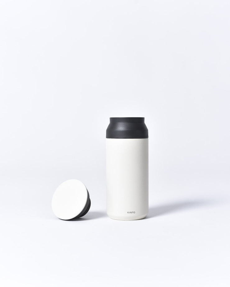 Kinto - 350ml - Travel Tumbler - To Go - Stainless Steel - Insulated - White
