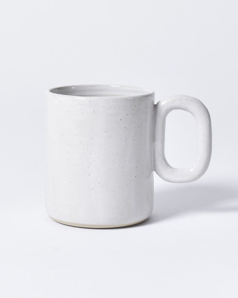 ecologyst x Pinto Projects - Ceramic mug - Chain mug - Made in Canada BC - White