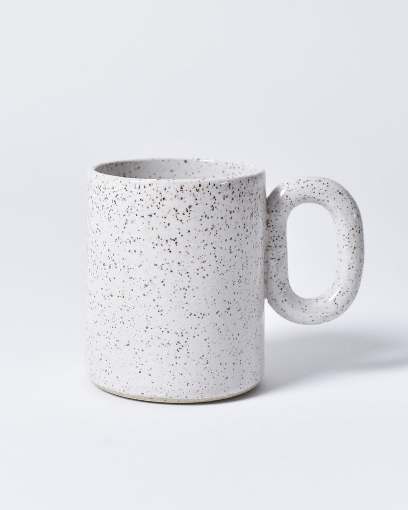 ecologyst x Pinto Projects - Ceramic mug - Chain mug - Made in Canada BC - Speckled