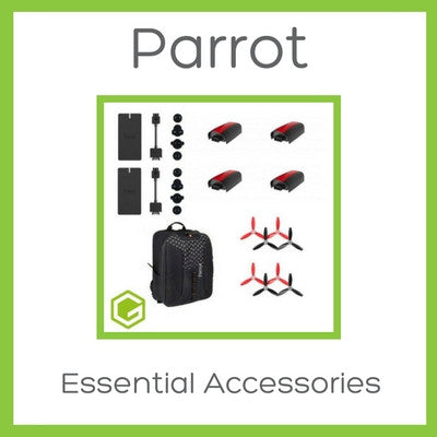 Parrot Bebop 2 - Essential Accessories Bundle - D W-P Enterprises LTD - 1
