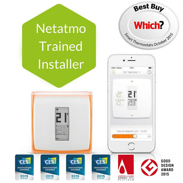 Netatmo, Smart Thermostat by Spark - D W-P Enterprises LTD - 3