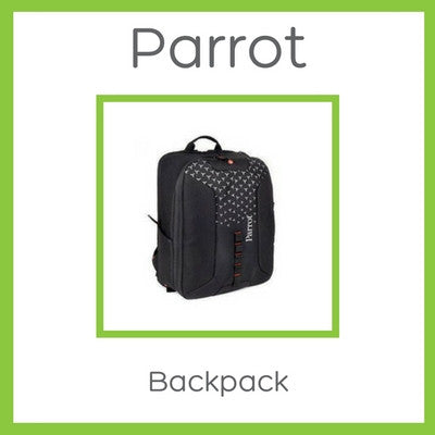 Official Parrot Bebop 2 (or Bebop) & SkyController Backpack - Black - D W-P Enterprises LTD - 1